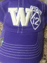 Washington Huskies NCAA Top Of The World Stretch Fitted Hat NEW! - $9.99