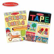 Melissa & Doug Scissor Skills and Tape Activity Pad Set (Early Learning ... - $14.80