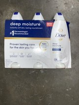 Dove Nourishing Body Wash, Deep Moisture 24 fl oz 3 PK - $23.27