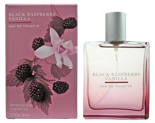Bath & Body Works Luxuries Black Raspberry Vanilla Eau De Toilette 1.7 fl oz