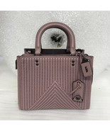 NWT Coach Rogue 25 With Quilting And Rivets Rose Pink Retail $795 Style ... - $434.78