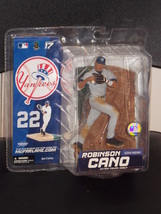 2007 McFarlane New York Yankees Robinson Cano Figure Debut New In The Pa... - $29.99