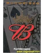 Budweiser Playing Cards Poker Black Deck  - $4.99