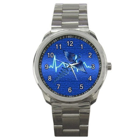 Blue Registered Nurse RN Sport Metal Watch Gift model 32061373