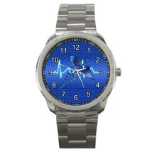 Blue Registered Nurse RN Sport Metal Watch Gift model 32061373 - $15.99