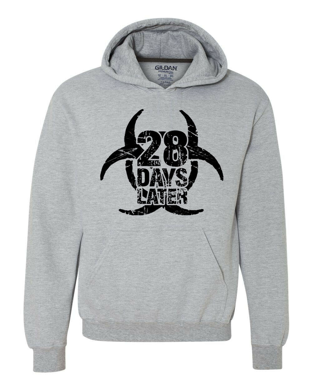 28 Days Later Hoodie horror zombie movie sweatshirt the rage virus 28 weeks