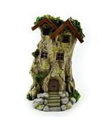 Fairy Garden House, LED Fairy Tree House Miniature,  Forest Tree House M... - £19.75 GBP
