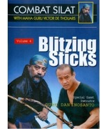 Indonesian Combat Pentjak Silat #4 Blitzing Sticks DVD Victor deThouars ... - $19.99