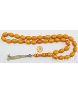 Prayer Beads Tesbih Gebetskette Genuine Antique Miskeh Faturan Almani Bi... - $871.20