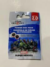 DISNEY INFINITY Power Disc Pack 2.0 Marvel Super Heroes Sealed 2 Discs NEW - $7.86