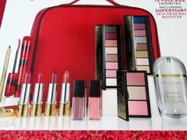 Elizabeth Arden Sparkle On Holiday Makeup Gift Set 12 Pc Cosmetic Bag NEW Sealed - $55.95