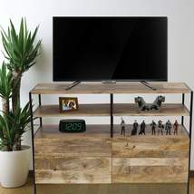The Urban Port UPT-39250 TV Console Stand With Storage Cabinet Brown  - €454,78 EUR