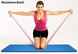 Resistance Toning Belt, Stretch Exerciser, Latex Material, 01 Pc image 2