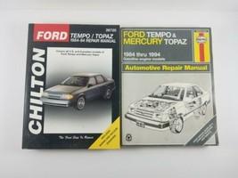 CHILTON/Haynes Ford Tempo Mercury Topaz 1984 - 94 Automotive Repair Manual 26720 - $19.99