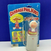 Garbage Pail Kids vtg 1986 Imperial toy on card Pop Up trash can Dollar ... - $39.55