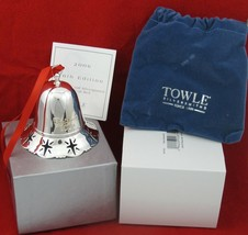 Towle 2006 26th Edition Silverplated Musical Bell  Christmas Ornament • ... - $24.95