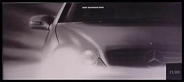 2000 Mercedes-Benz CL500 Prestige Sales Brochure - $18.51
