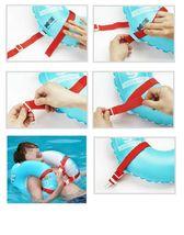 Herc Adult Shoulder Swim Ring Tube for Men Women (Blue) image 4