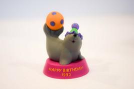 Hallmark  Happy Birthday Seal  Dated 1992   Merry Miniature - $7.99