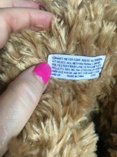 Mary Meyer St. Judes Brown Teddy Bear Oliver Blue Hat Scarf Stuffed Plush Animal