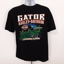 Harley-Davidson Leesburg Men's T-shirt Size XL Black SP14 - $16.82