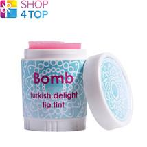 TURKISH DELIGHT LIP TINT BOMB COSMETICS MOISTURISING NOURISHING SOFTENIN... - $4.74