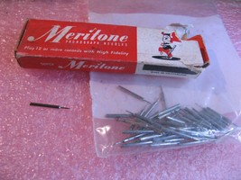 Meritone Phonograph Needles Open Box and Loose - Used Lot - $9.49