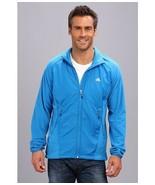 new adidas HT OUTDOOR WIND FLEECE JACKET men's L windbreaker blue run tr... - $54.35