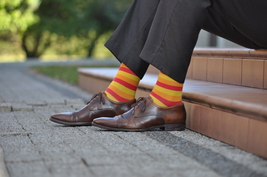 Warm Stripes Colourful Socks - $8.40