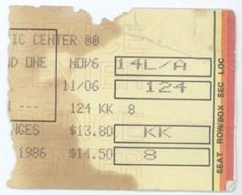 RARE Triumph 11/6/86 Providence RI Civic Center Concert Ticket Stub! - $2.96
