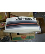 Johnson 35 Engine Cover Seahorse NOS OMC 393036 - $123.75