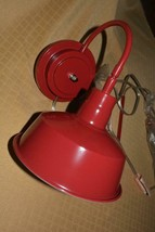 Pottery Barn Kids Red Sconce Lamp Light Wall Mount NIB - $19.35