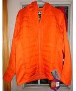 new under armour ua infrared storm werewolf full zip jacket orange size ... - $80.00