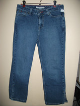 Girls Tommy Hilfiger Jeans Pants Blue sz 4 Nice Condition - $14.01