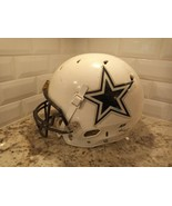 "Schutt XL ""DALLAS COWBOYS"" WHITE Speed Full Size Throwback Football Helm... - $92.57"