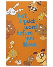 American Greetings Funny Animals Goodbye Congratulations Card With Foil - $12.69