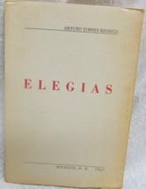 Elegias by Rioseco Arturo Torres - $44.11
