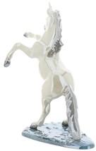 Hagen-Renaker Specialties Large Ceramic Figurine Unicorn Rearing on Base image 5