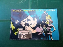 ~~ Kodak Instamatic 414 Camera Owners User Instruction Manual 15 Pages ~~ - $3.00
