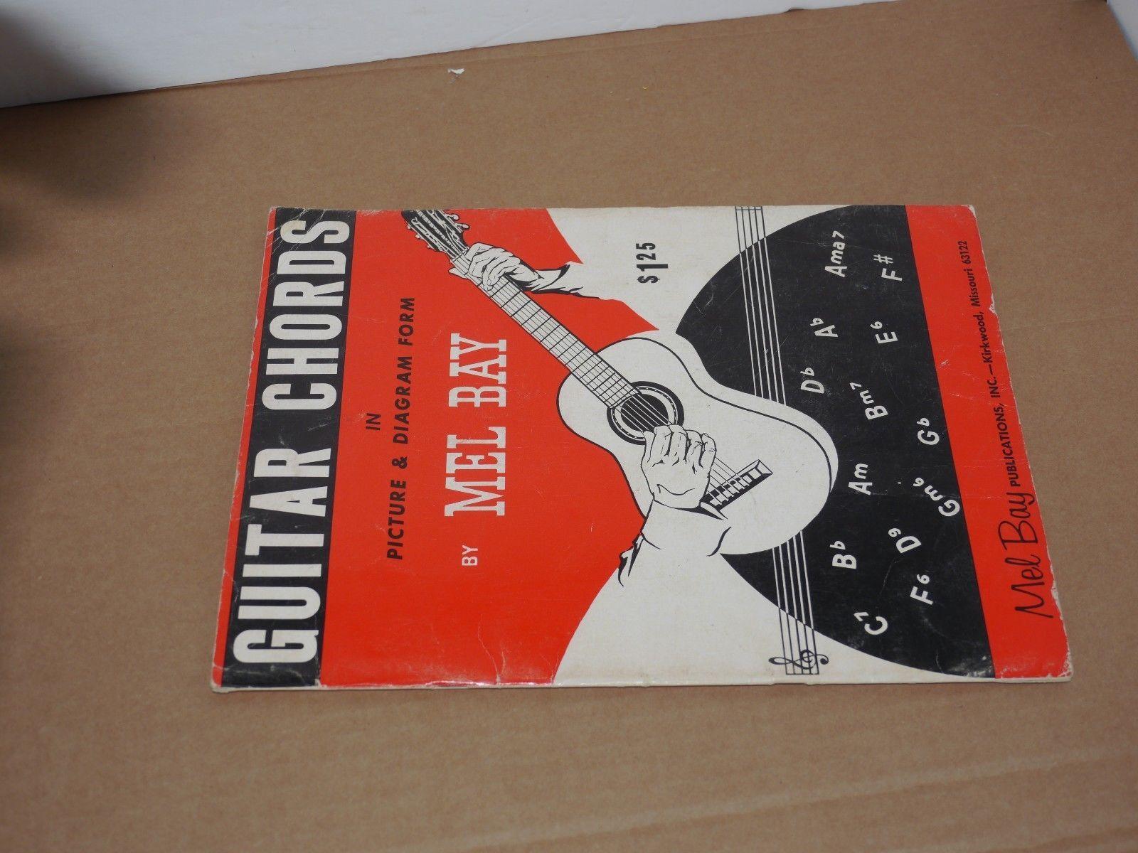 Guitar Chords Mel Bay Picture Diagram And 18 Similar Items