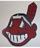"""Cleveland Indians Embroidered PATCH~3 3/4"""" x 2 1/2""""~Iron Sew On~MLB~Ship... - $4.95"""