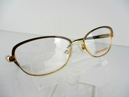 NEW Tory Burch TY 1019 (364) Coconut Gold 50 x 16 135 mm Eyeglass Frames - $54.66