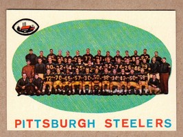 1959 Topps #146 Pittsburgh Steelers Team Card / checklist NM+ condition - $10.76