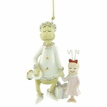 Lenox Grinch & Cindy Lou Ornament Dr Seuss Very Merry Sound Stole Christ... - $74.05