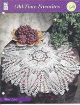 Blue Lace Doily~Old-Time Favorites Crochet Pattern - $2.99