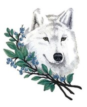 Nature Weaved in Threads, Amazing Animal Kingdom [Wolf in Winter Branche... - $17.81