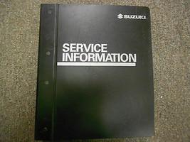 2005 Suzuki Aerio Service Shop Reparatur Werkstatt Manuell RH423 Autohau... - $227.65