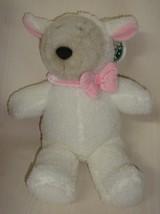 STARBUCKS 1999 Plush Teddy Bear Lamb Costume Stuffed Bearista 10th Edition Sheep - $9.89