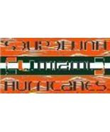 "MIAMI HURRICANES NCAA 30"" X 60"" BEACH TOWEL NEW - $14.99"
