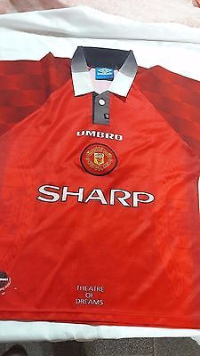 6f1b25f48 old soccer Jersey Manchester United umbro and 50 similar items. 1